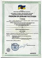 Inmasters Ltd. - State registration certificate